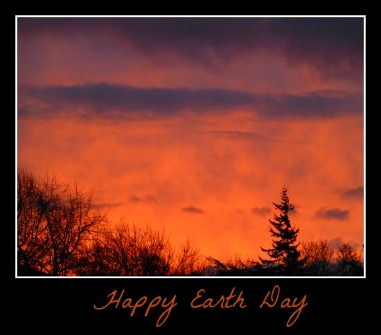 April Earth Day 2013 Sunrise